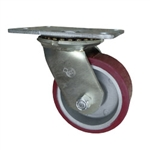 5 Inch Swivel Caster Poly on Aluminum