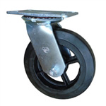 8 Inch Swivel Caster with Rubber Tread Wheel