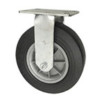 "10"" Rigid Pneumatic Cart Caster"