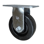 6 Inch Rigid Caster with Phenolic Wheel