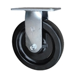 8 Inch Rigid Caster with Phenolic Wheel