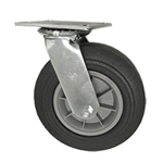 "10"" Swivel Pneumatic Cart Caster"