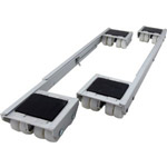 9603 Aluminum Appliance Rollers