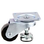 top plate mount leveling caster