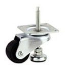 threaded mount leveling caster
