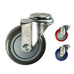 "4"" Swivel Caster with Polyurethane Tread"