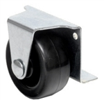 concealed side mount caster with 2 inch wheel