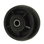 4 inch  solid Glass Filled Nylon caster wheel with Roller Bearings
