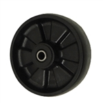 6 inch Glass Filled Nylon caster wheel with Roller Bearings