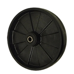 8 inch Glass Filled Nylon caster wheel with Roller Bearings