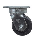 4 Inch Kingpinless Swivel Caster with Phenolic Wheel and Ball Bearings