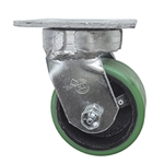 4 Inch Kingpinless Swivel Caster with Polyurethane Tread Wheel and Ball Bearings
