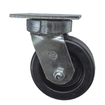 5 Inch Kingpinless Swivel Caster with Phenolic Wheel and Ball Bearings