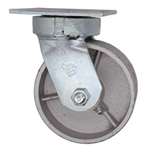 5 Inch Kingpinless Swivel Caster with Semi Steel Wheel and Ball Bearings