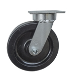 8 Inch Kingpinless Swivel Caster with Phenolic Wheel and Ball Bearings