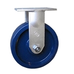 10 Inch Extra Heavy Rigid Caster with Polyurethane  Wheel