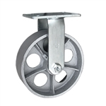Rigid Caster with Semi Steel Wheel