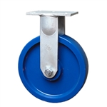 12 Inch Rigid Caster with Solid Polyurethane Wheel