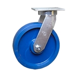 12 Inch Kingpinless Swivel Caster with Polyurethane Wheel