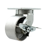 Swivel Caster with Semi Steel Wheel and Side Lock Brake