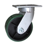8 Inch Swivel Caster with Polyurethane Tread Wheel