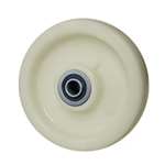 6 inch  solid Nylon caster wheel with Ball Bearings