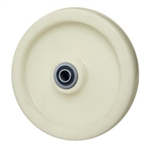 8 inch  solid Nylon caster wheel with Ball Bearings