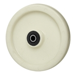 8 inch  solid Nylon caster wheel with Roller Bearings