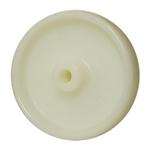 5 inch  solid Nylon caster wheel