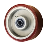 "5"" x 2"" Polyurethane on Aluminum Wheel with Ball Bearings"