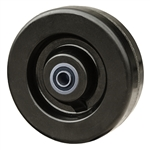 "6"" x 2"" Phenolic Resin Wheel with Ball Bearings"