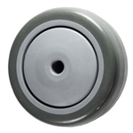 3 inch  Polyurethane on Poly Wheel