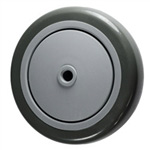 "5"" x 1-1/4""  Non Marking Polyurethane on Poly Wheel"
