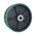 Polyurethane on Cast Iron Wheel