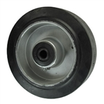 "6"" x 2"" rubber on Aluminum Wheel"