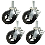 Heavy Duty Scaffold Caster Set