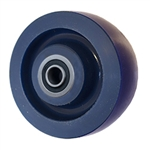 4 inch  heavy duty solid Polyurethane caster wheel with Ball Bearings