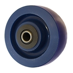 4 inch  heavy duty solid Polyurethane caster wheel