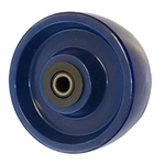 5 inch  heavy duty solid Polyurethane caster wheel