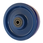 6 inch  heavy duty solid Polyurethane caster wheel