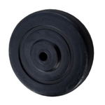 "4"" x 1-1/4"" Rubber Wheel"