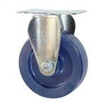 "4"" Stainless Steel Rigid Caster with Polyurethane Wheel"