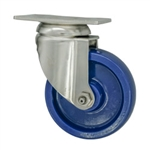"4"" Stainless Steel  Swivel Caster with Polyurethane Wheel"