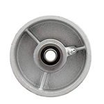 "4"" x 2"" Semi Steel Wheel with Ball Bearings"