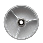 "6"" x 2"" Semi Steel Wheel with Ball Bearings"