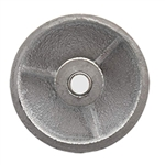 3 inch  semi steel cast iron wheel