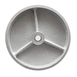 5 inch  semi steel cast iron caster wheel