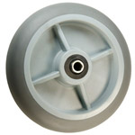 "2"" x 8""  Thermoplastic Rubber  on Poly Wheel"