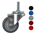 "3.5"" Swivel Caster with Polyurethane Tread"