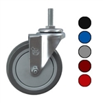 "5"" Swivel Caster with Polyurethane Tread"